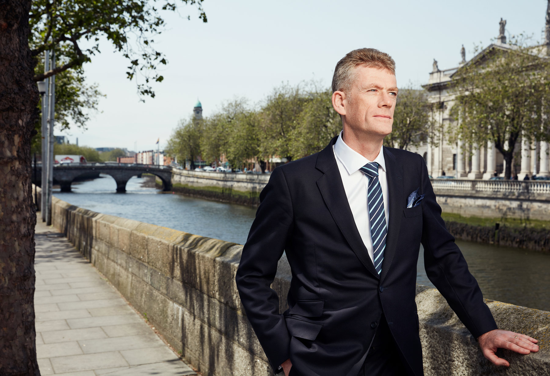 environmental photography: william aylmer lawyer at the four courts