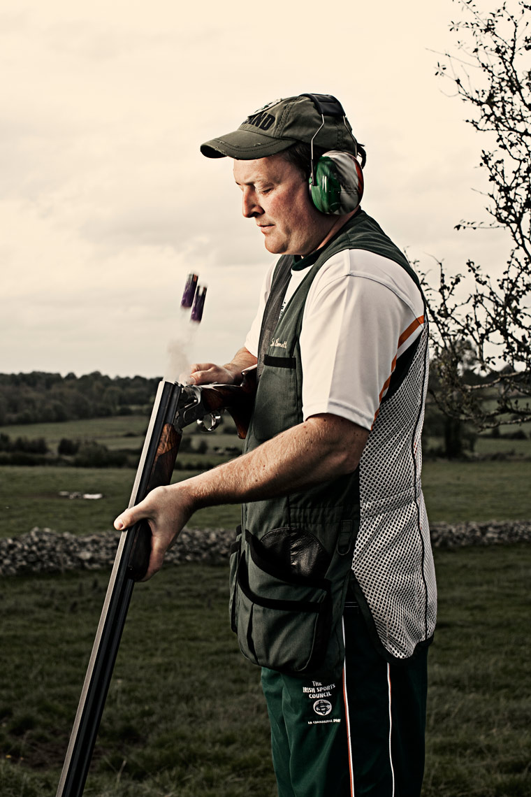 athlete portraits: derek burnett Irish olympic shooter