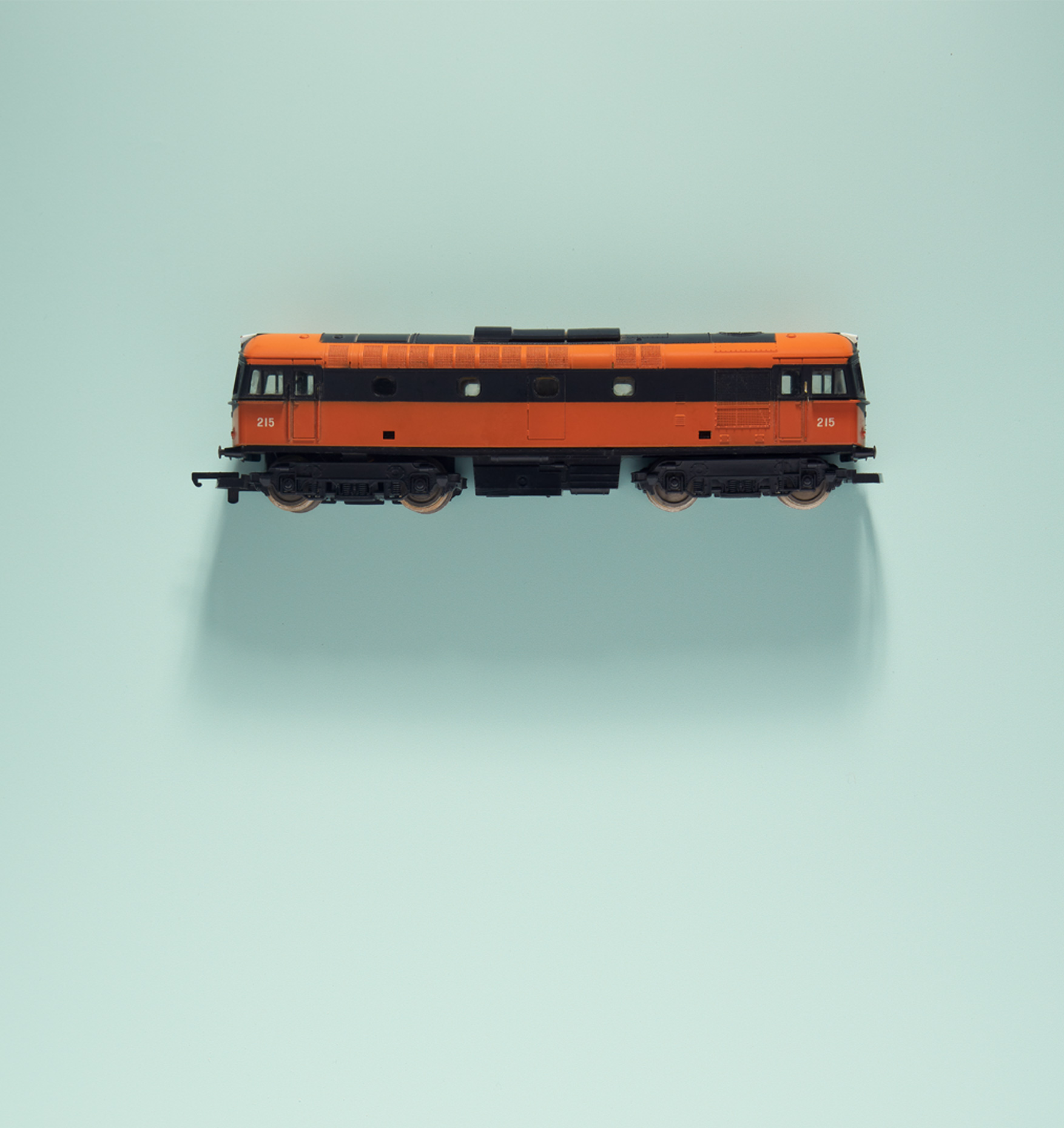 creative still life photography: an old CIE diesel locomotive