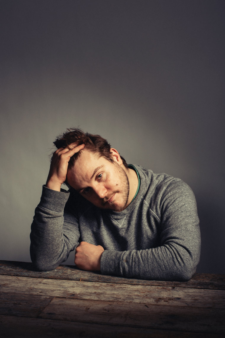 studio portraits actor peter coonan