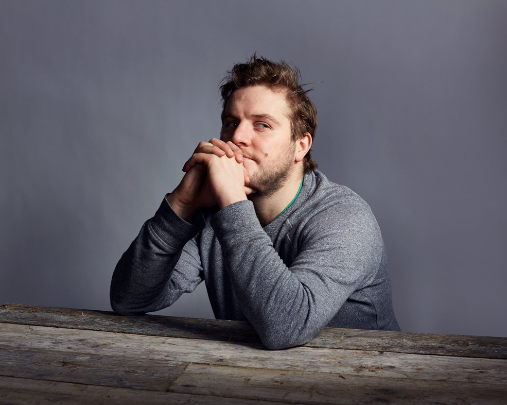 head shot photography of peter coonan actor