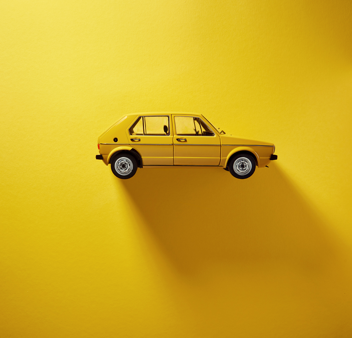 Still Life Photography: vw golf mark1