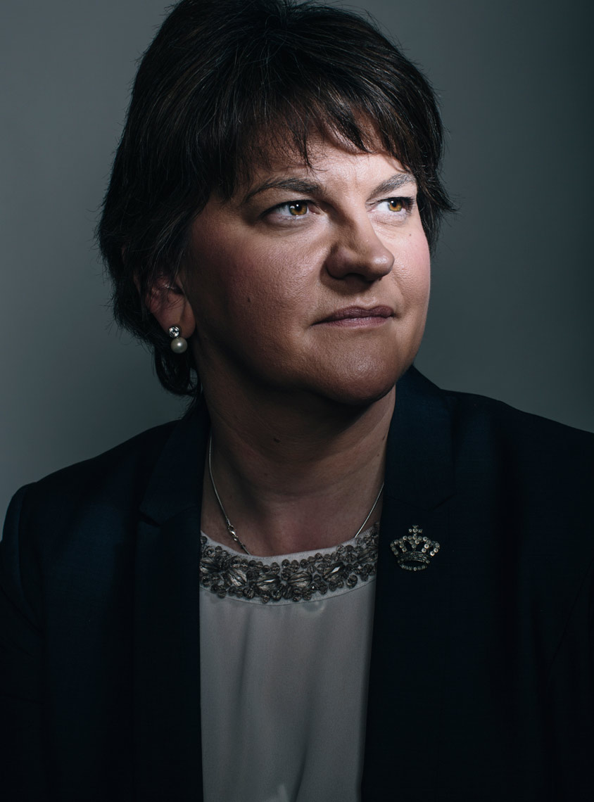 headshot photography: arlene foster northern ireland politician