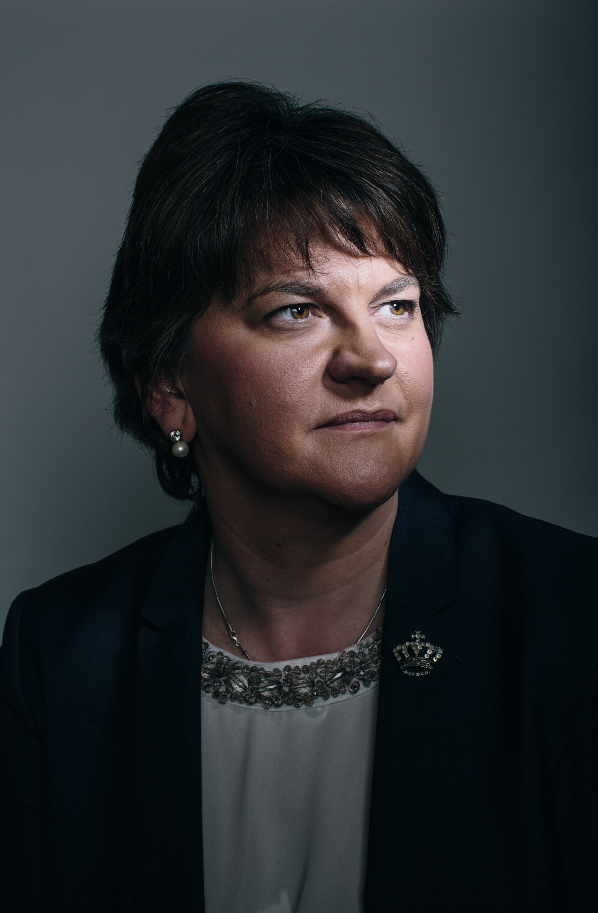corporate portrait photography: arlene foster politician