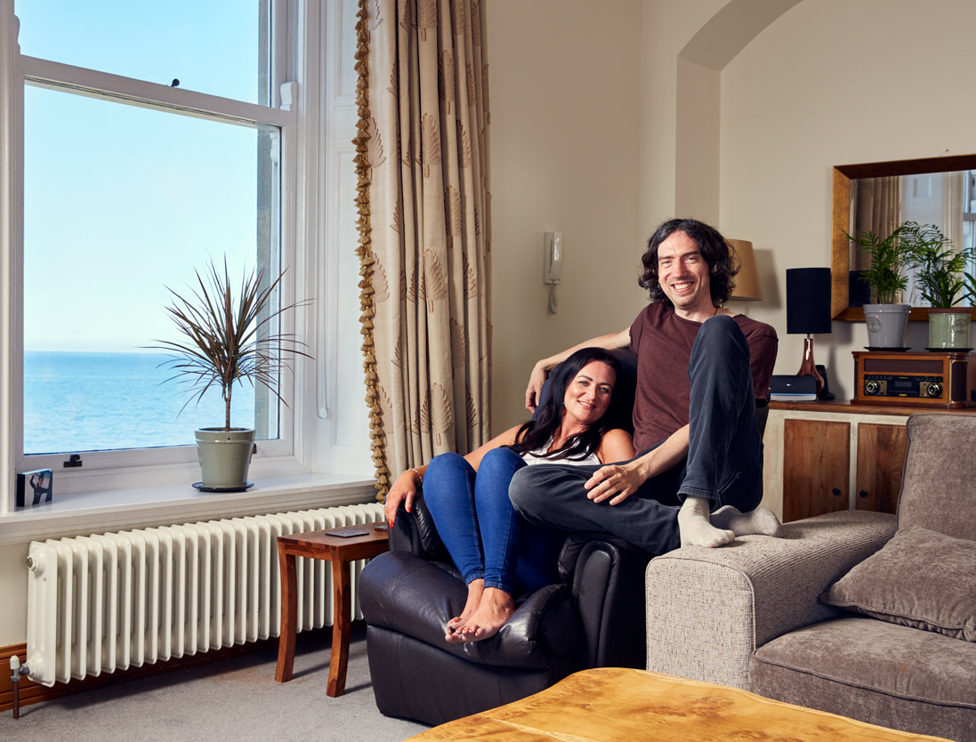 location portrait photography: snow patrol lead singer gary lightbody