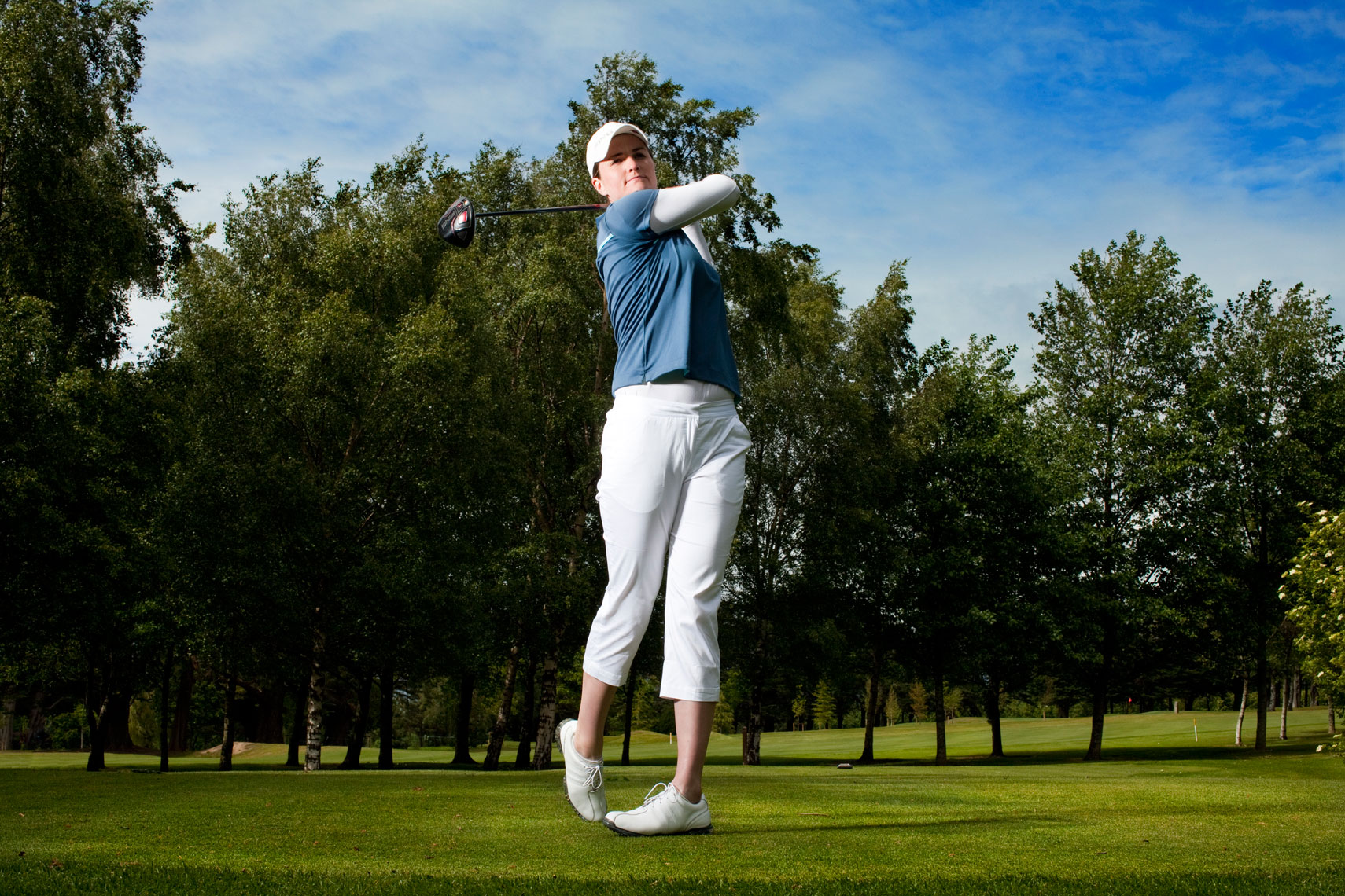 athlete portraits: danielle mcveigh golfer
