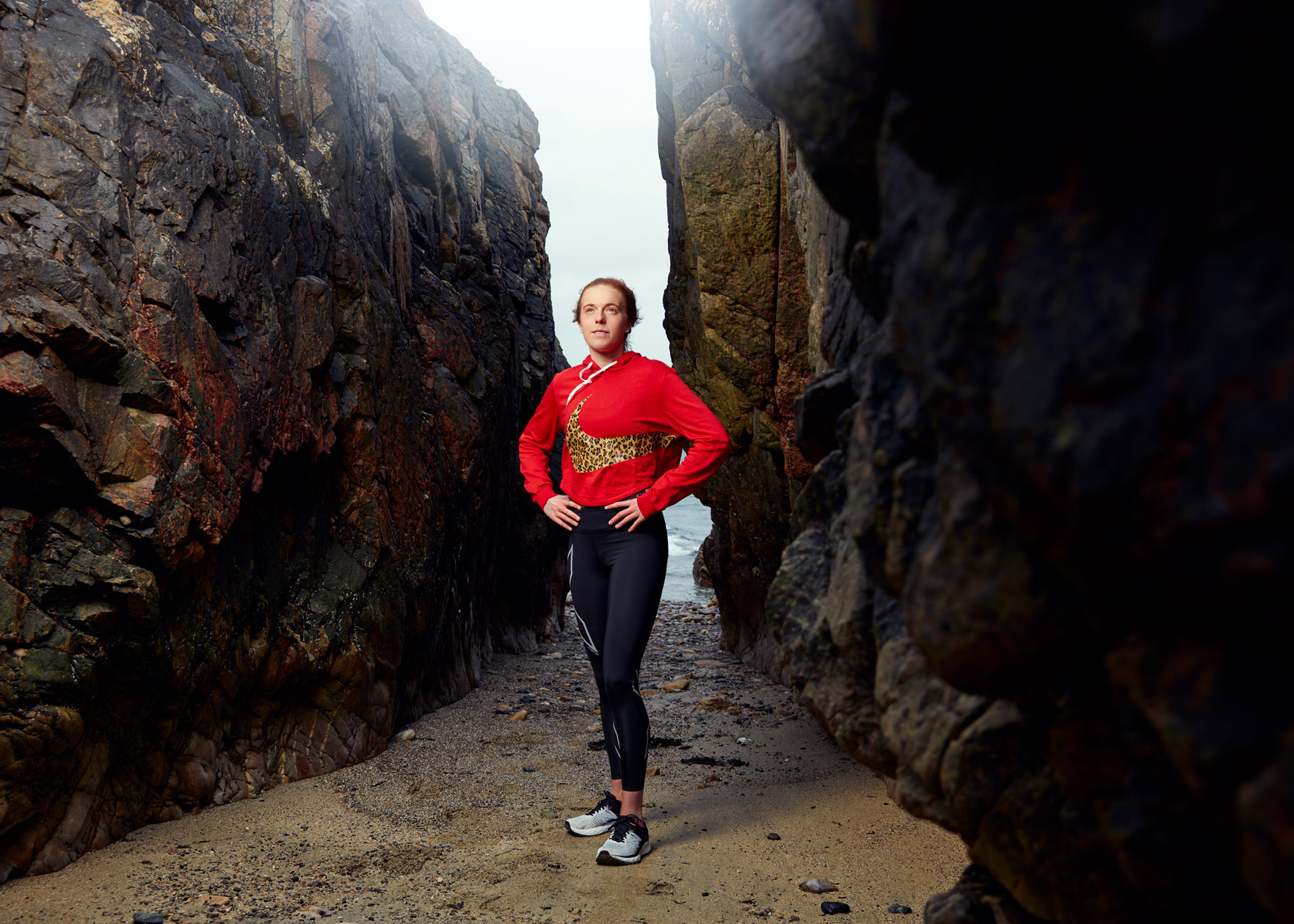 portrait photography: running is good for the soul