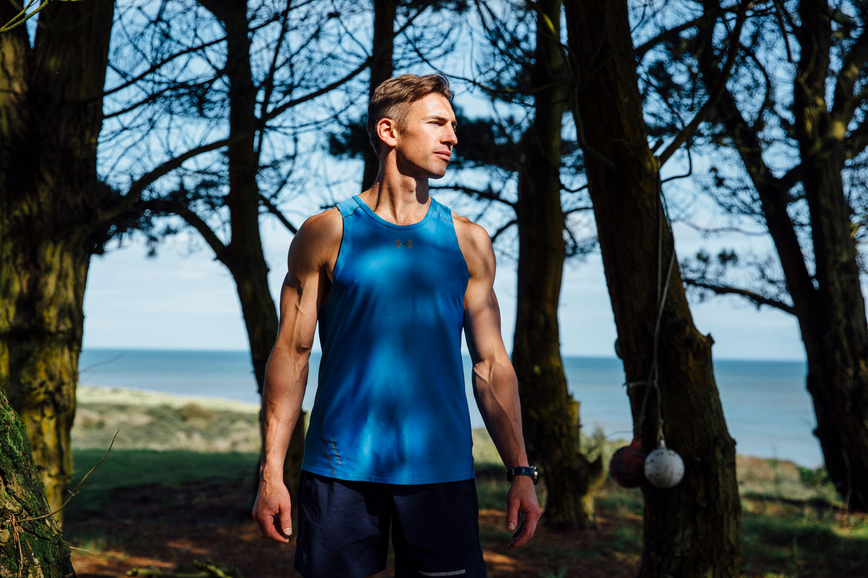 athlete portraits:  getting focussed for training