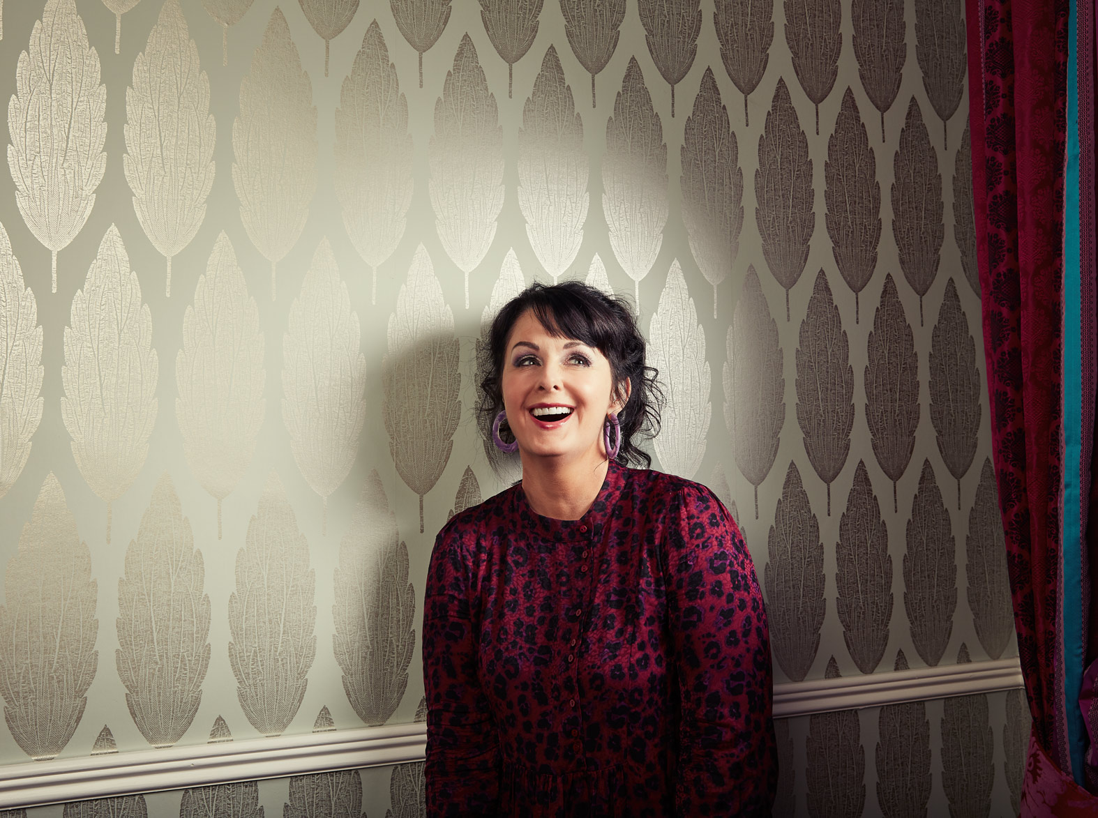 portrait photography: bestselling author marian keyes